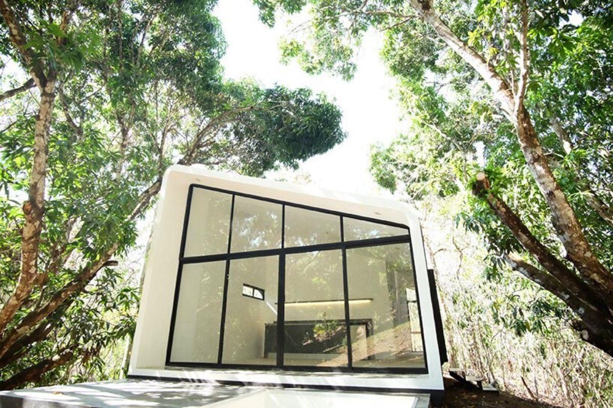 casa modular sustentável foto 2