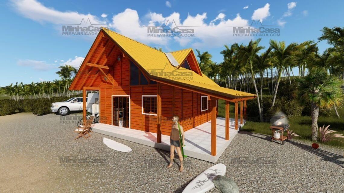 casa pré-fabricada modelo curitibanos
