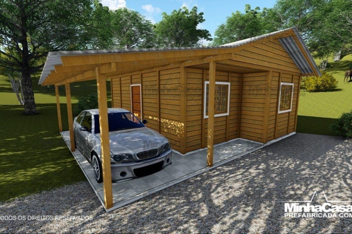 casas de madeira por menos de R$25 mil modelo pop 2.0