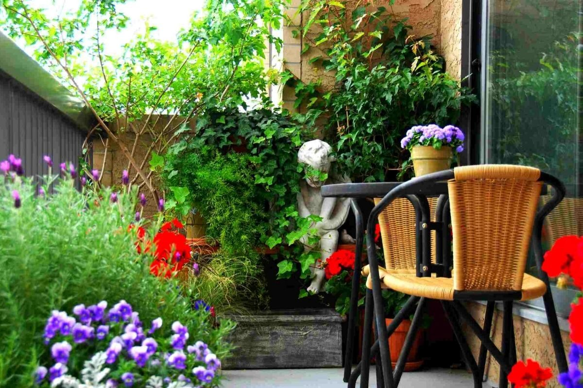 jardim pequeno ideia 56