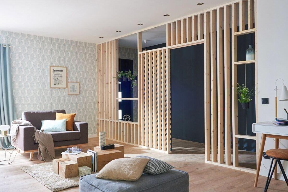 Modelo 2_ brise de madeira interno como divisória