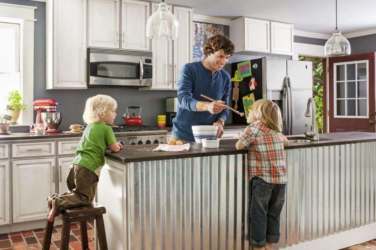 Modelo 5_ na decoração da cozinha