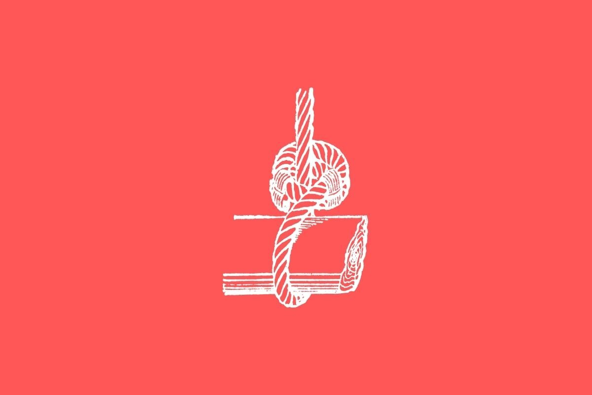 Passo 5_ grampeie a corda na madeira