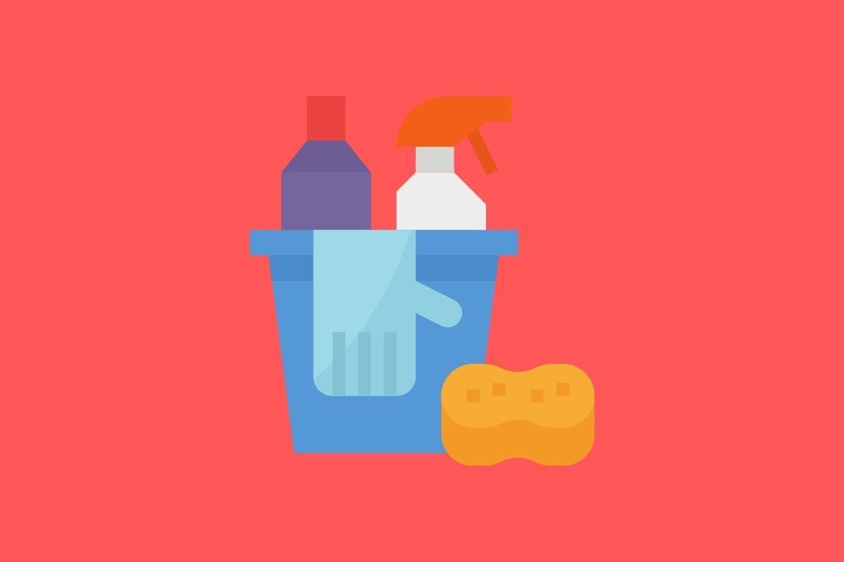 Realize a limpeza corretamente