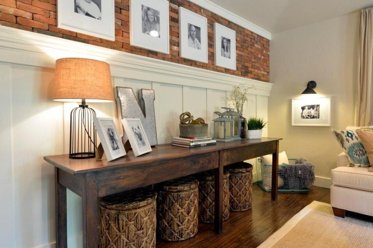 bancada de madeira Sala, quartos e outros cômodos secos
