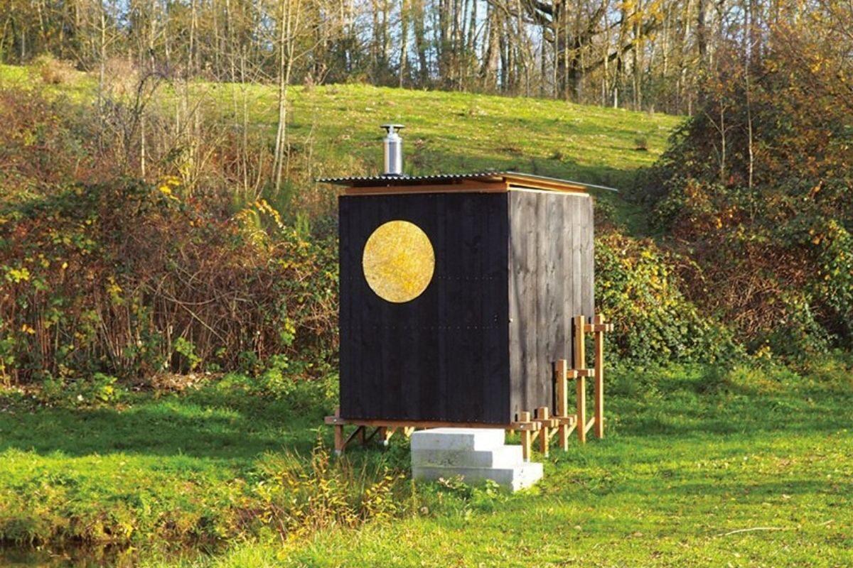 cabana de madeira saua foto 2