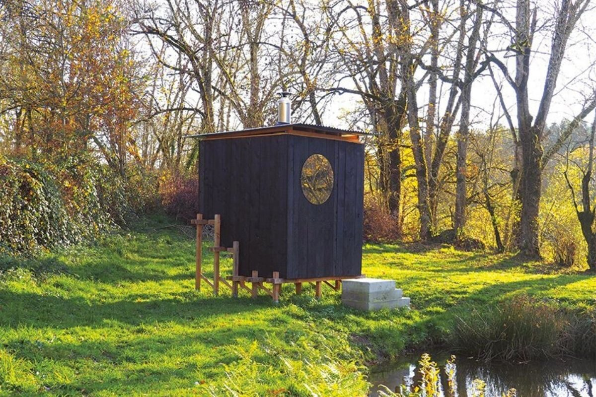 cabana de madeira saua foto 3