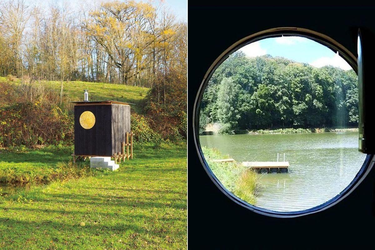 cabana de madeira saua foto 6
