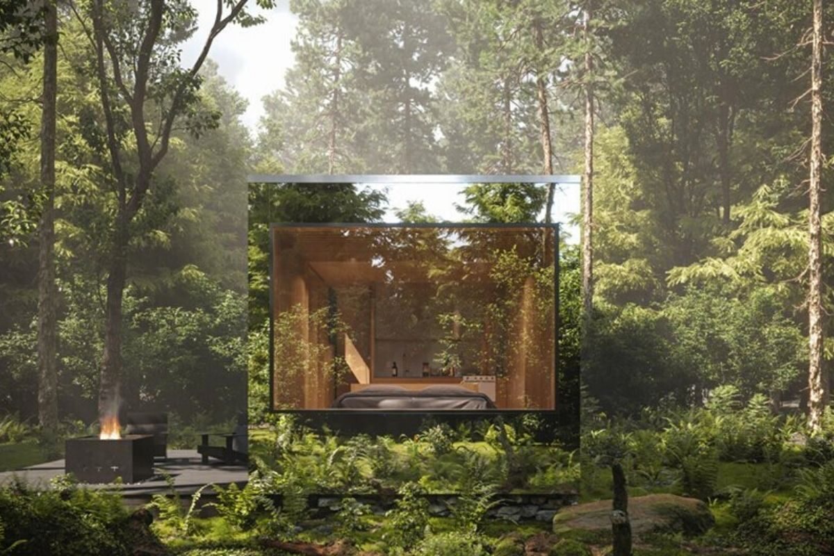 cabana espelhada foto 2