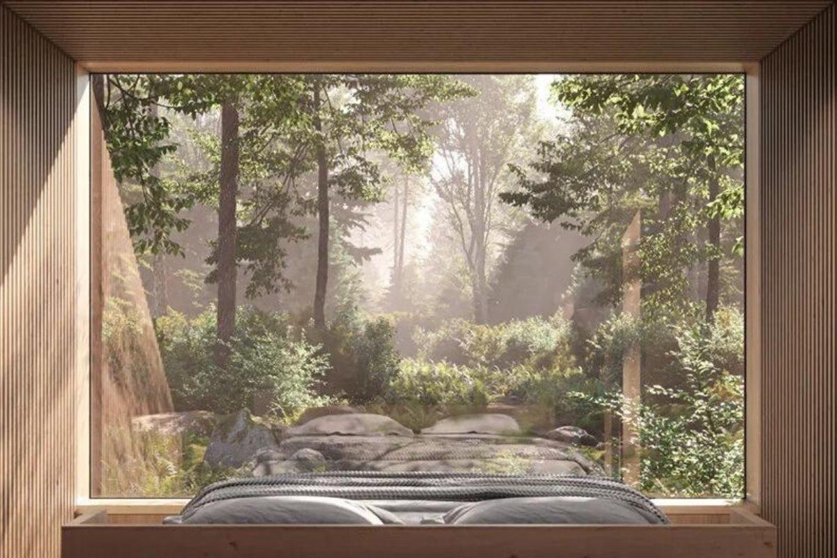 cabana espelhada foto 6