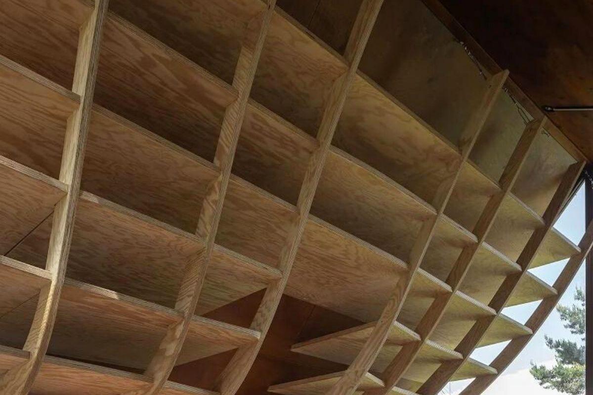 cabana madeira e metais foto 6