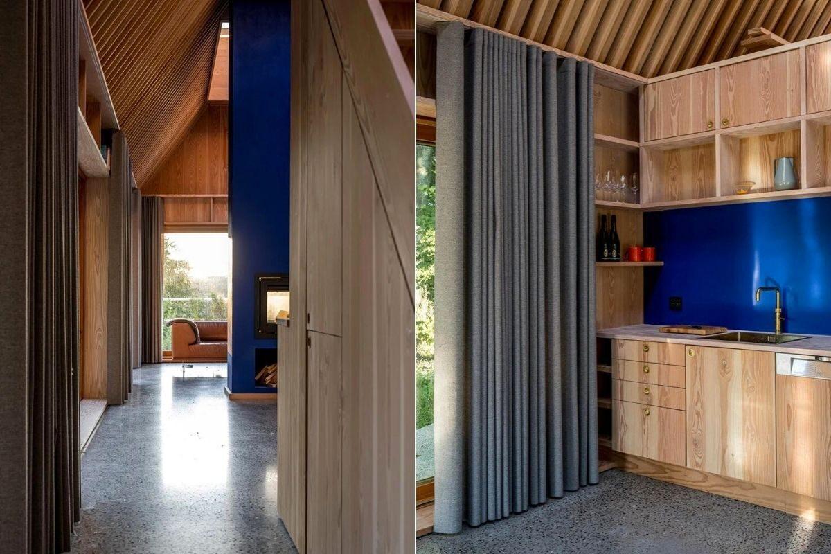 casa de madeira e cobre foto 13