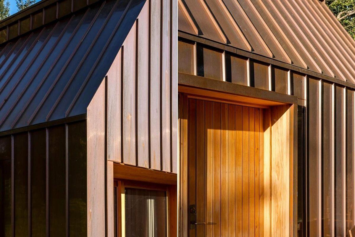 casa de madeira e cobre foto 15