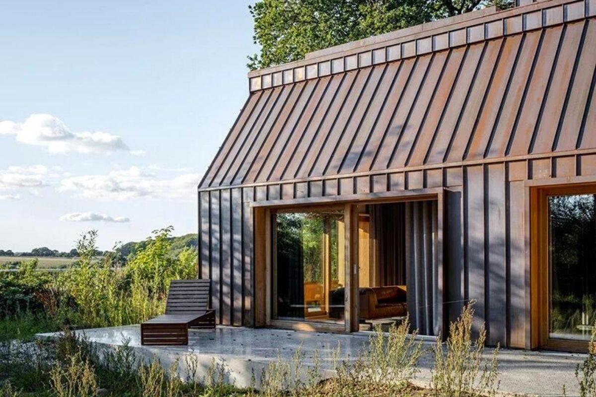 casa de madeira e cobre foto 4