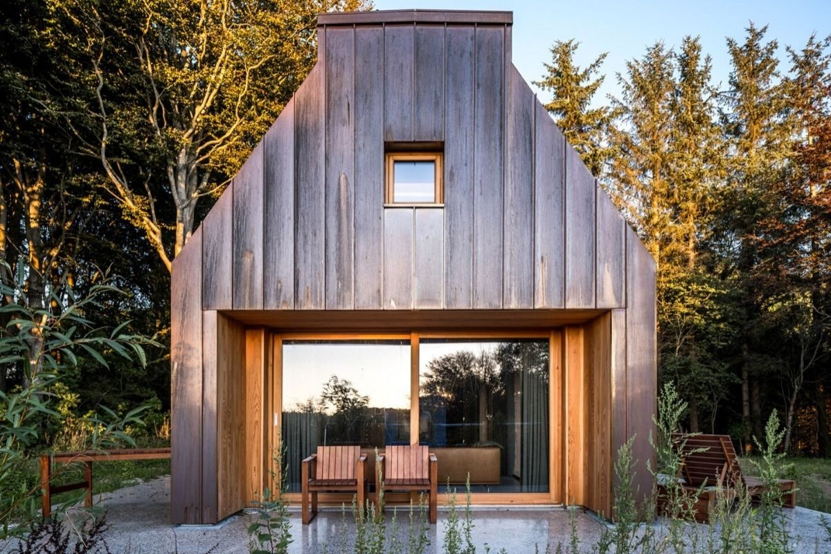 casa de madeira e cobre foto 5