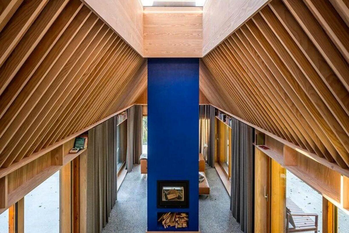 casa de madeira e cobre foto 9