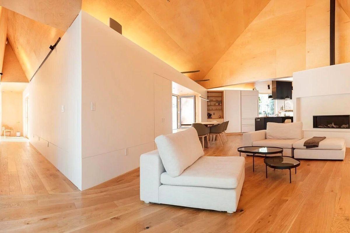 casa de madeira translucida foto 5