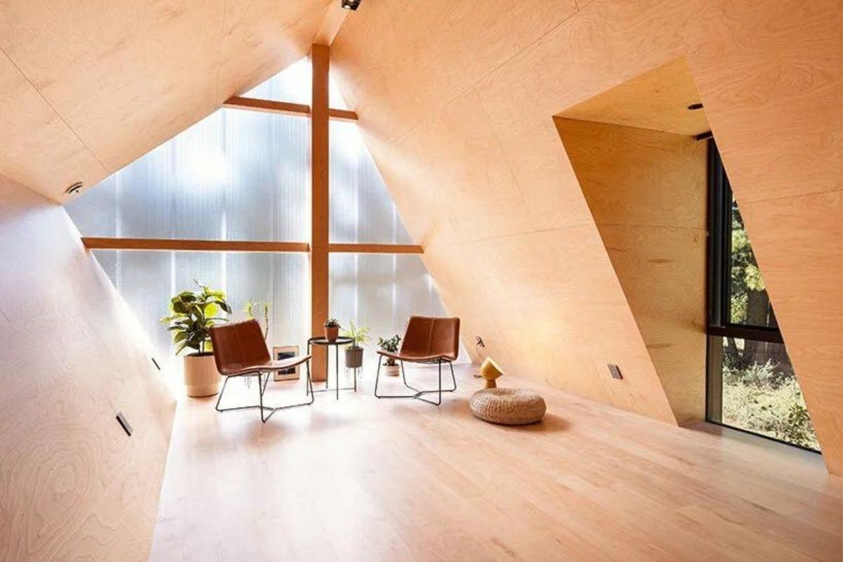 casa de madeira translucida foto 6