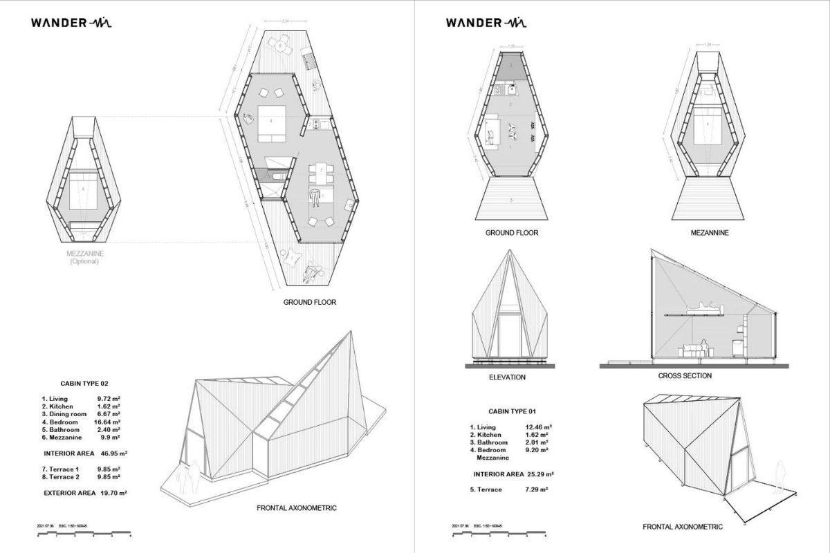 chalé pre-fabricado moderno rojkind arquitectos foto 11