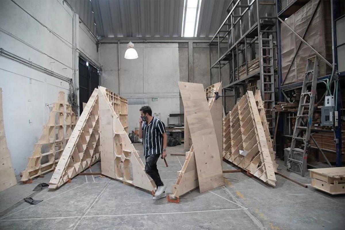 chalé pre-fabricado moderno rojkind arquitectos foto 6
