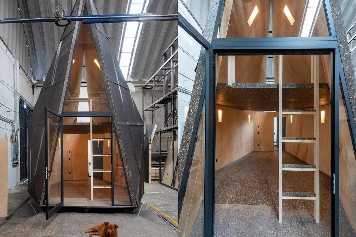 chalé pre-fabricado moderno rojkind arquitectos foto 9