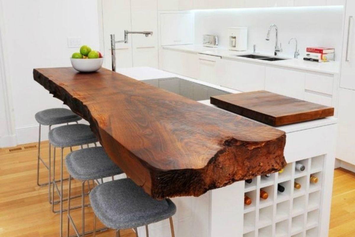 modelo de bancada de madeira 2