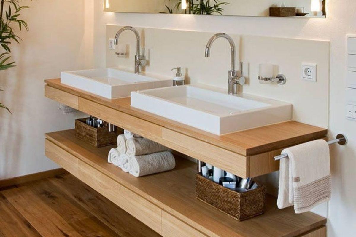 modelo de bancada de madeira 4