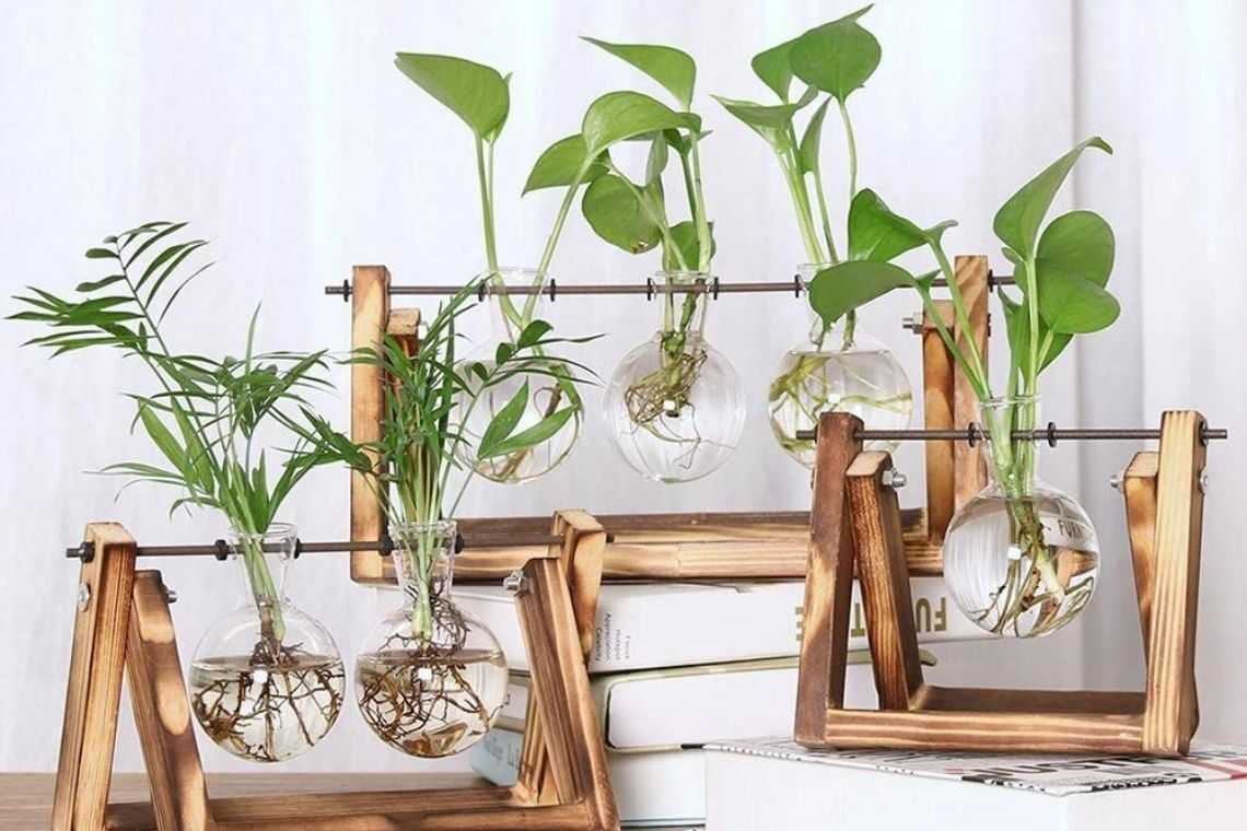 8. Vaso de madeira artesanal