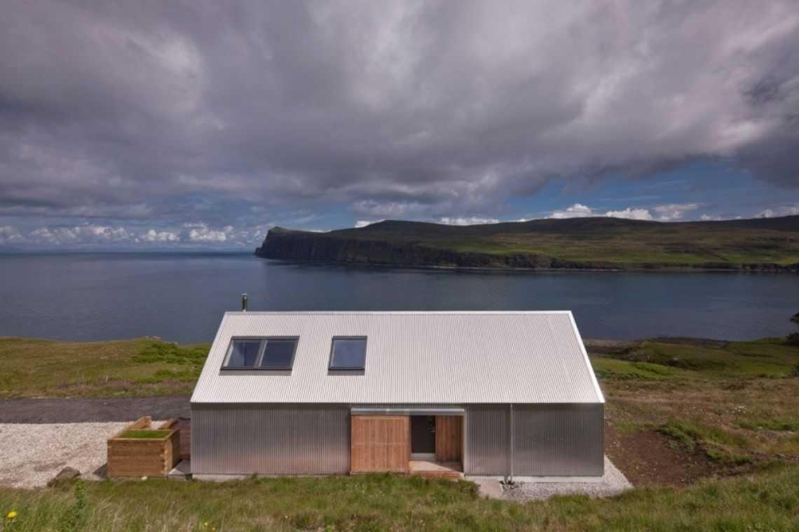 Acabamento externo com telha de alumínio (2)
