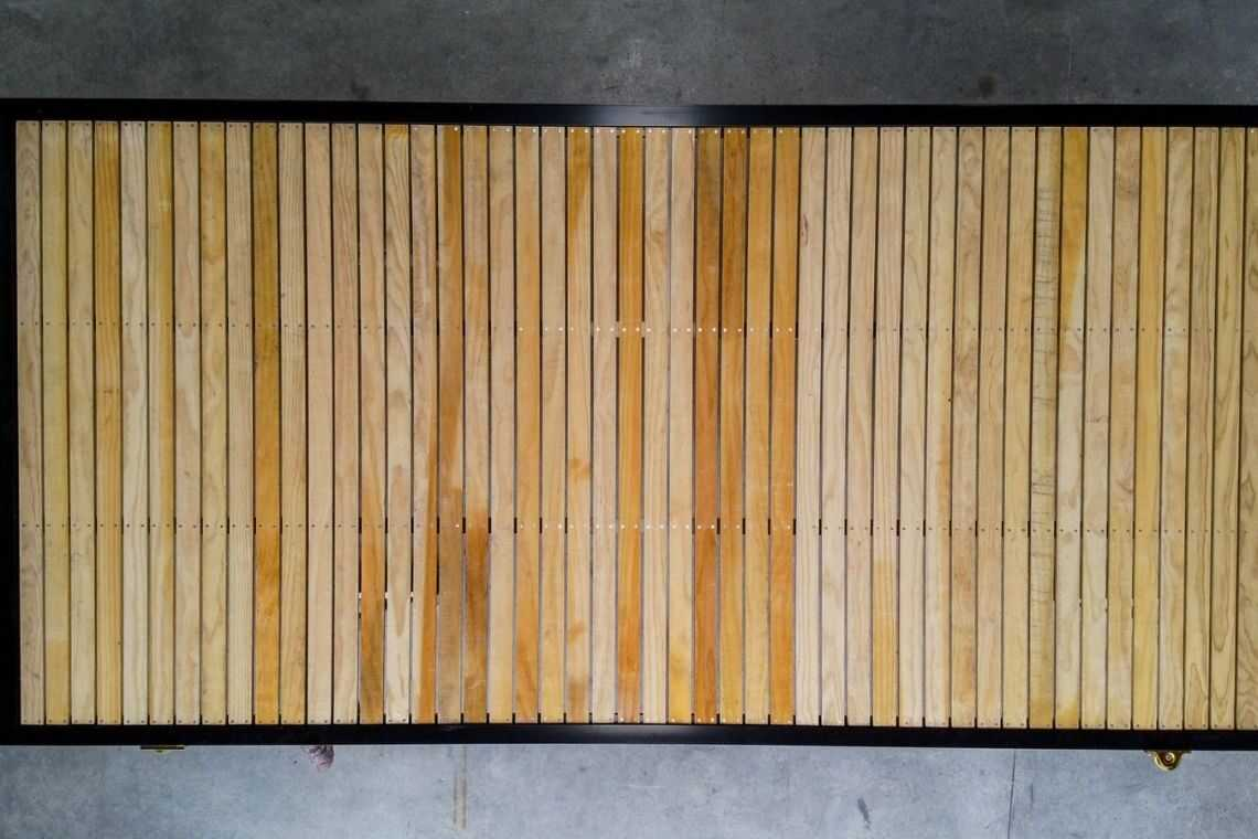 Como fazer o seu portão de madeira de correr passo 3
