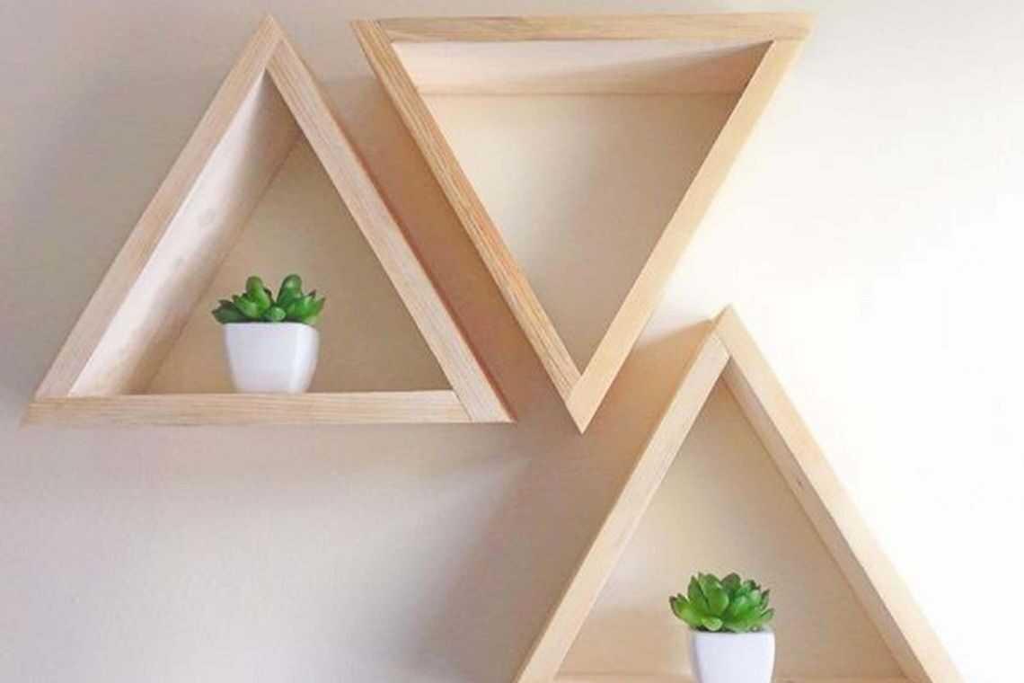 E esses nichos triangulares