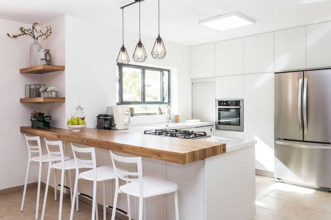 Escolha cores claras na cozinha americana
