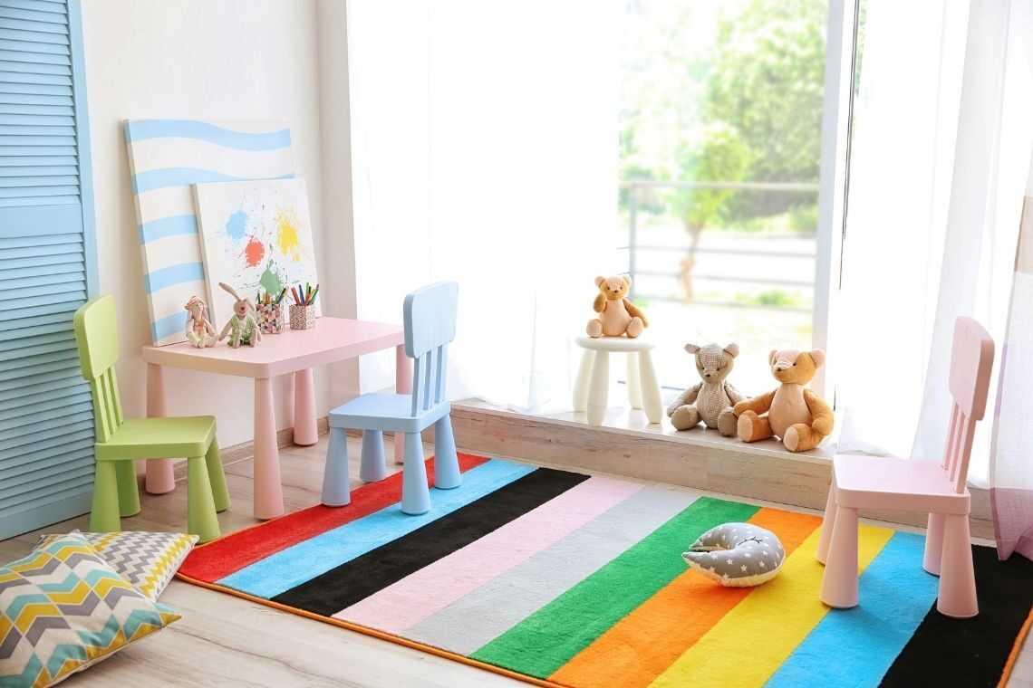 plantas de casas com 3 quartos com Espaço kids