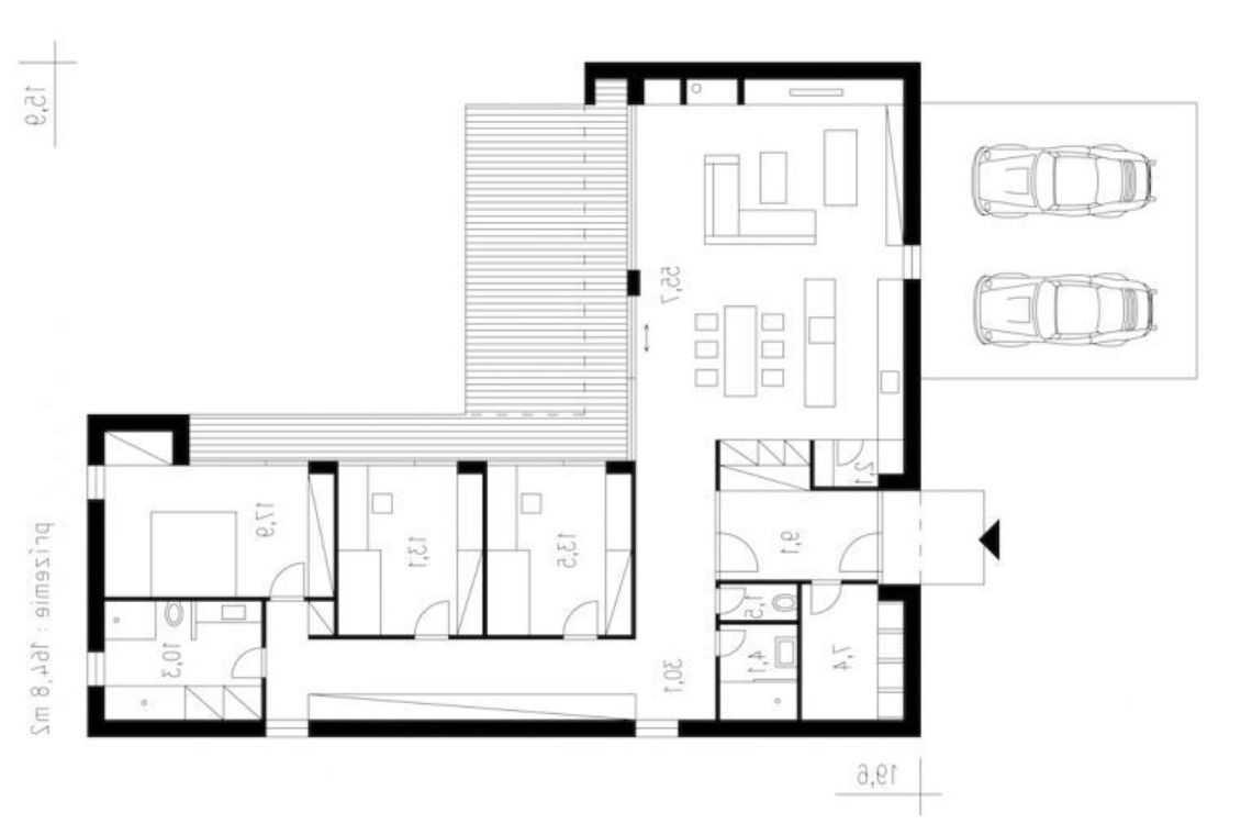 O que é uma casa em L_