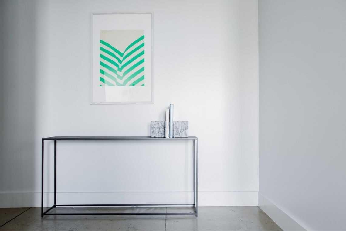 Pinte com cores claras para as Plantas de casas pequenas com 2 quartos e cozinha americana