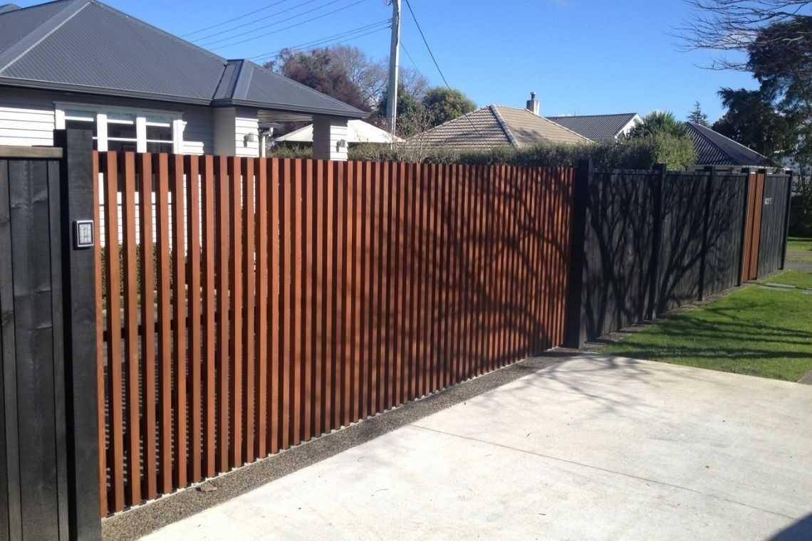Portão de Ipê
