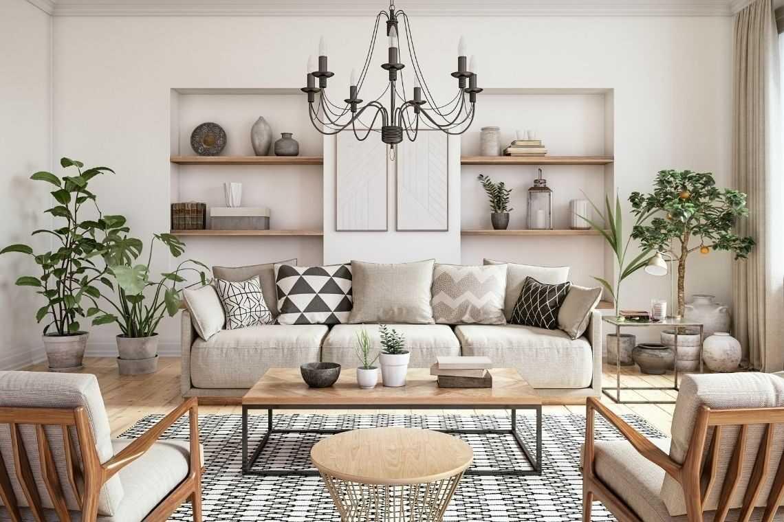 Prefira cores claras na casa pequena com 2 quartos