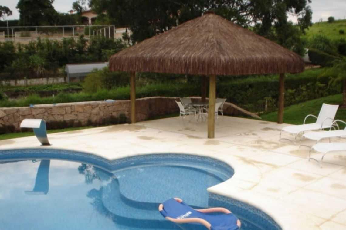 Quiosque rústico para piscina (4)