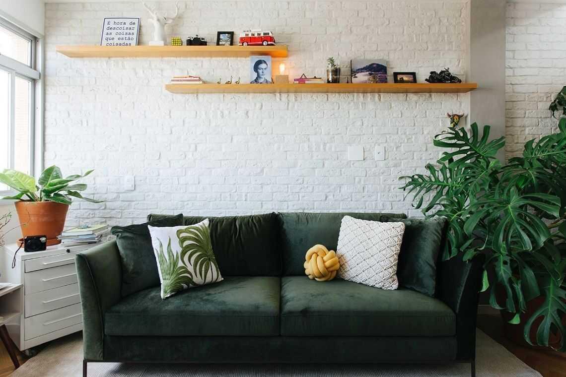 Sala de estar para complementar a decoração
