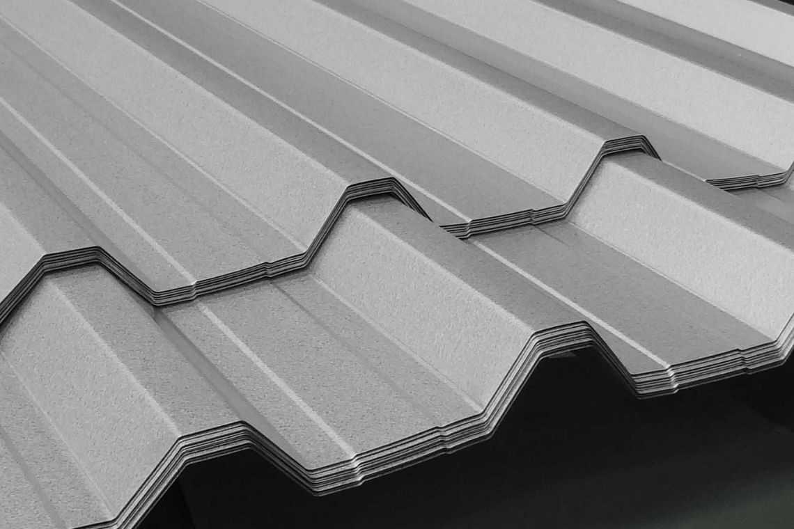 Telhas de zinco