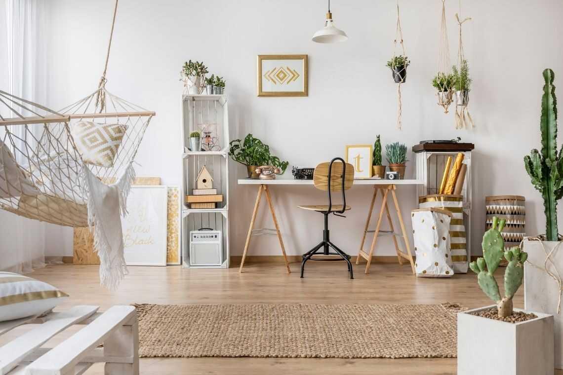 Tenha móveis multifuncionais na casa pequena com 2 quartos