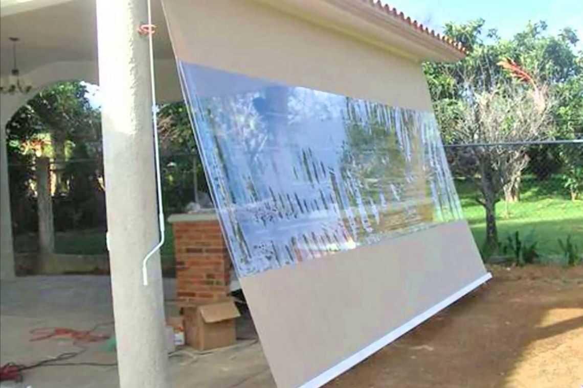 Toldo vertical