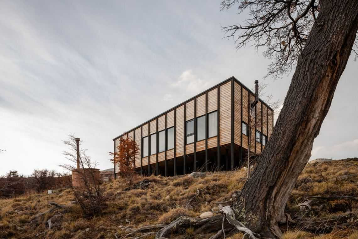 cabana de madeira awasi hotel patagonia foto 1