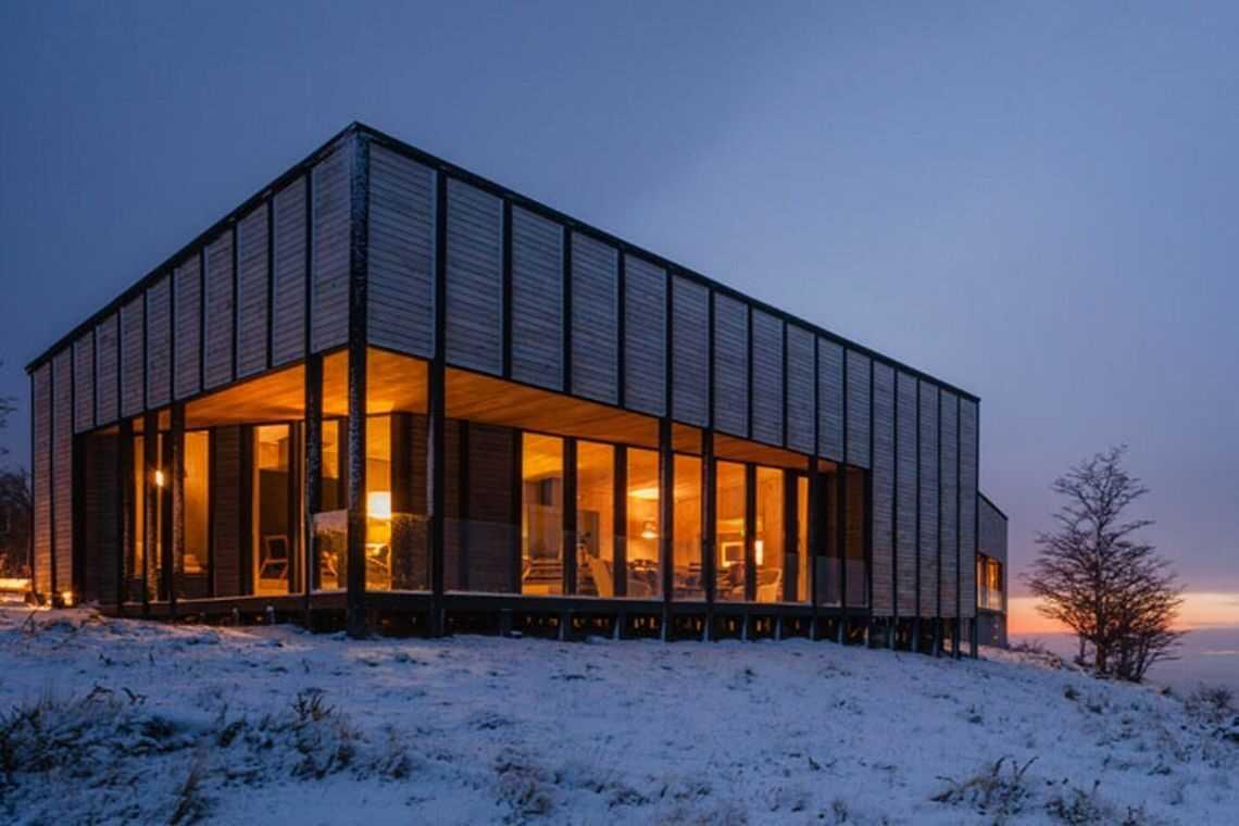 cabana de madeira awasi hotel patagonia foto 10