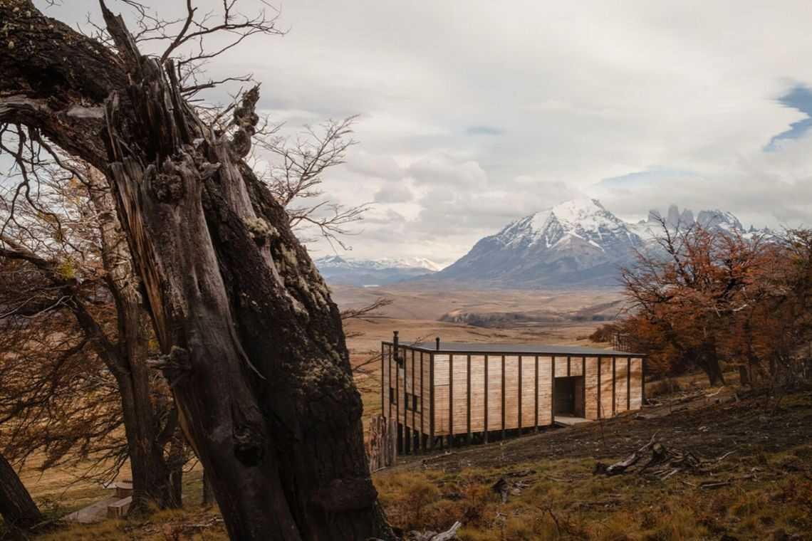 cabana de madeira awasi hotel patagonia foto 2
