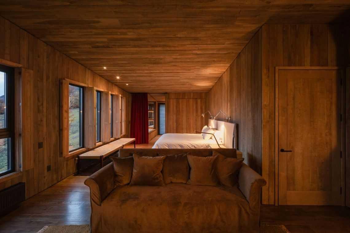 cabana de madeira awasi hotel patagonia foto 26