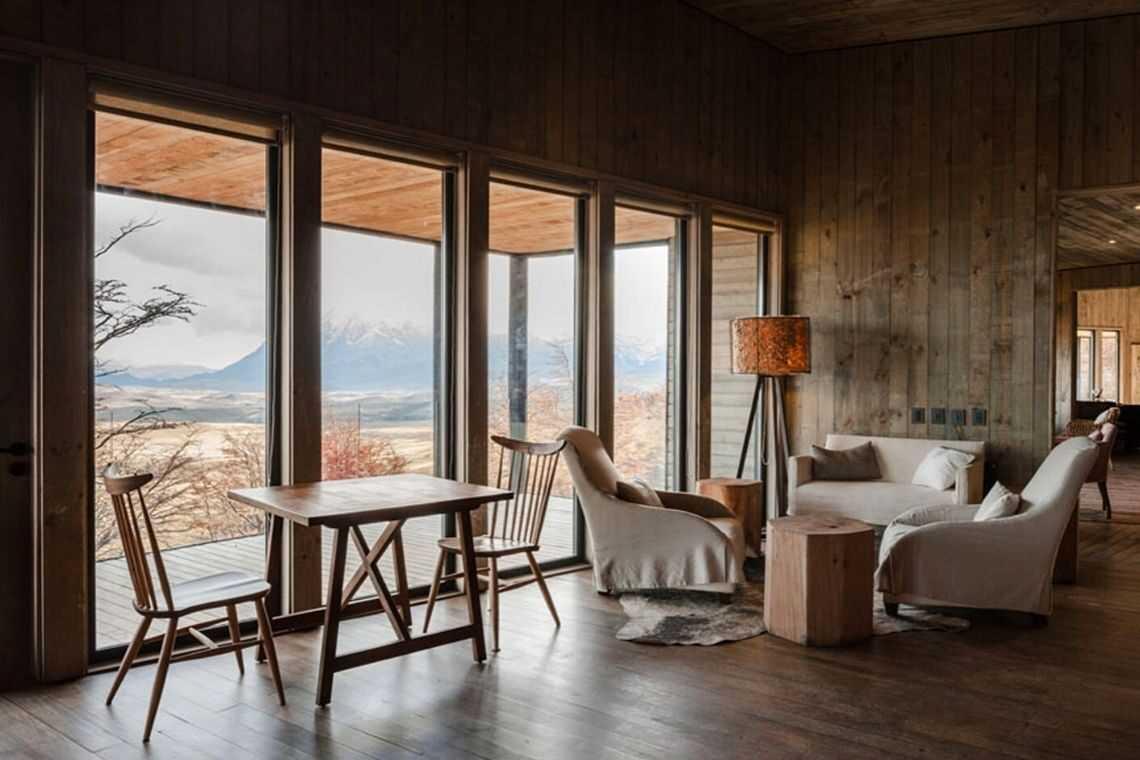 cabana de madeira awasi hotel patagonia foto 27