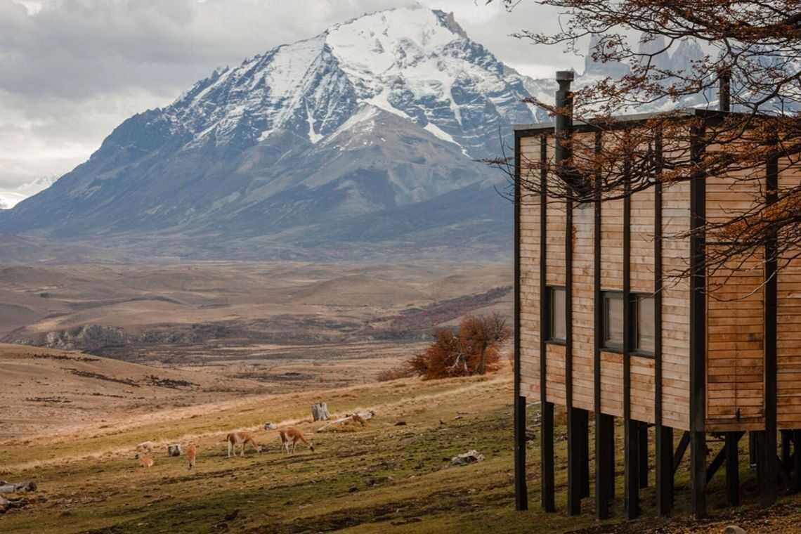 cabana de madeira awasi hotel patagonia foto 3