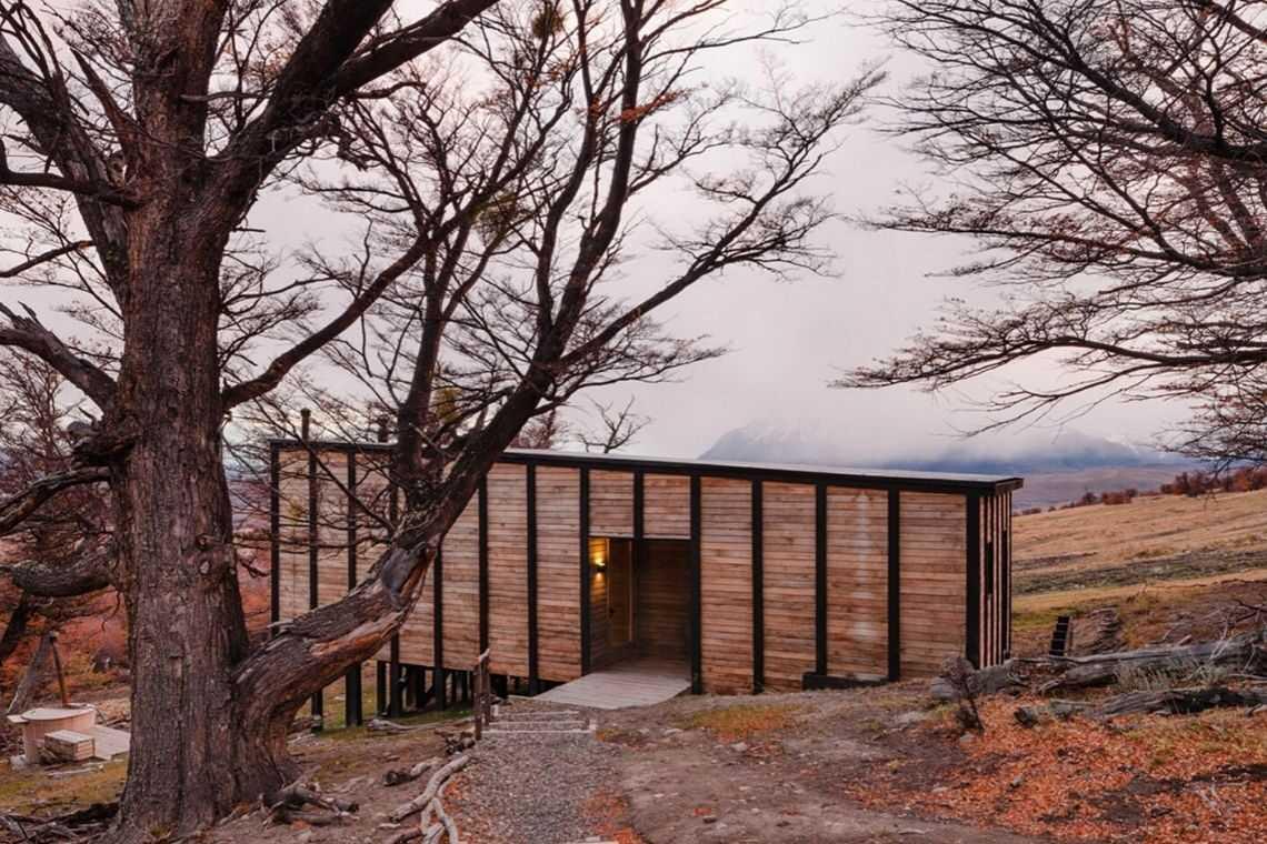 cabana de madeira awasi hotel patagonia foto 5