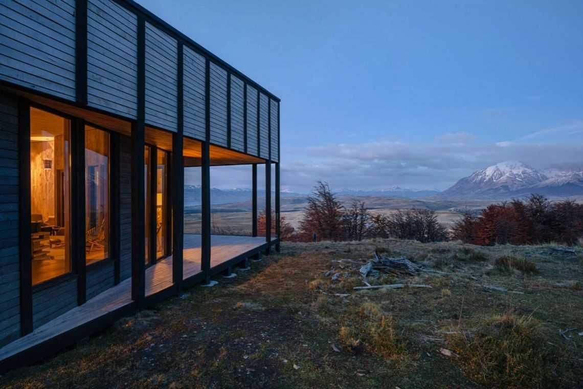 cabana de madeira awasi hotel patagonia foto 8